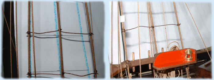 Making the sail rings